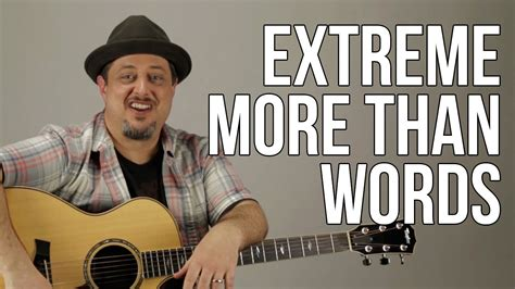 tutorial guitar more than words how to play quot more than words quot by extreme part 1 guitar