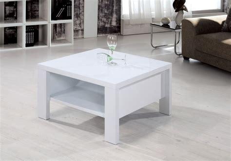High Gloss White Coffee Table Heartlands Peru Square Coffee Table Blue Interiors
