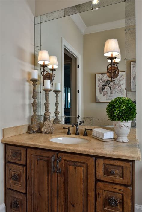 tuscan bathroom mirrors tuscan style bathroom old world feel antiqued mirror