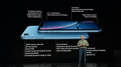 apple launches iphone xr featuring 6 1 inch liquid retina single rear and dual sim