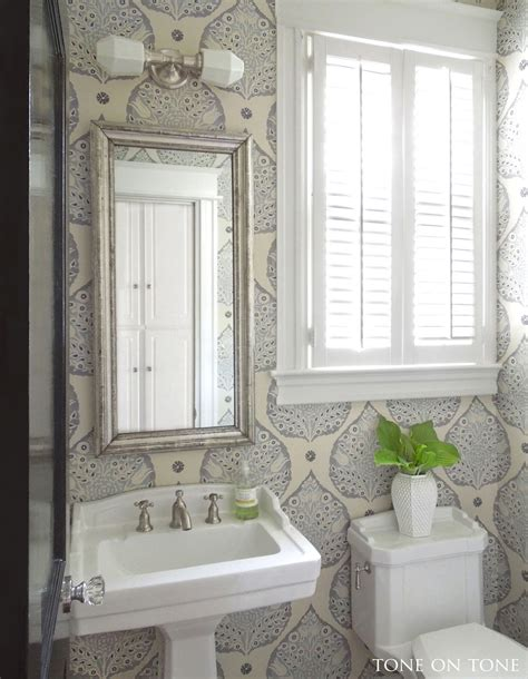 powder room design gallery tone on tone powder room renovation