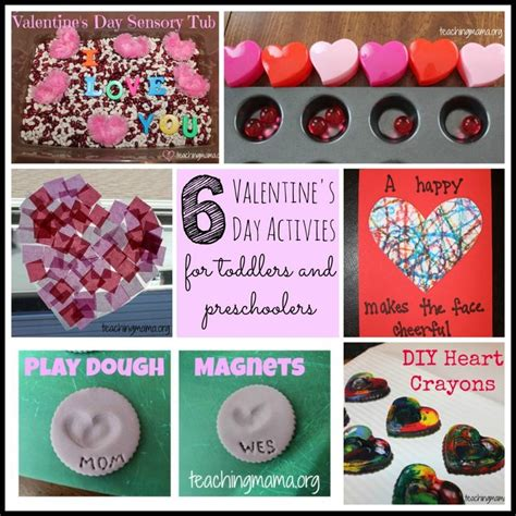 preschool activities for day 6 valentine s day activities for toddlers preschoolers