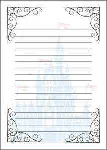 fairy tale writing paper template a4 cinderella disney