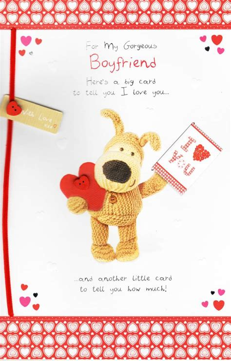valentines day cards for boyfriend to my gorgeous boyfriend boofle s day card cards kates