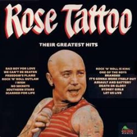 rose tattoo  greatest hits compilation spirit