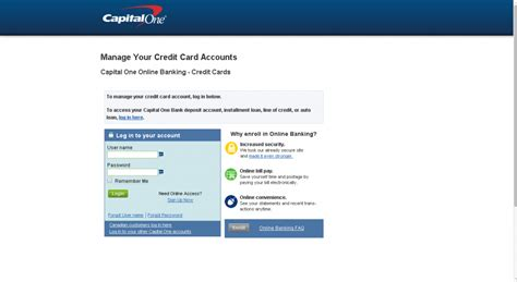 credit one capital one credit card login guide today s assistant