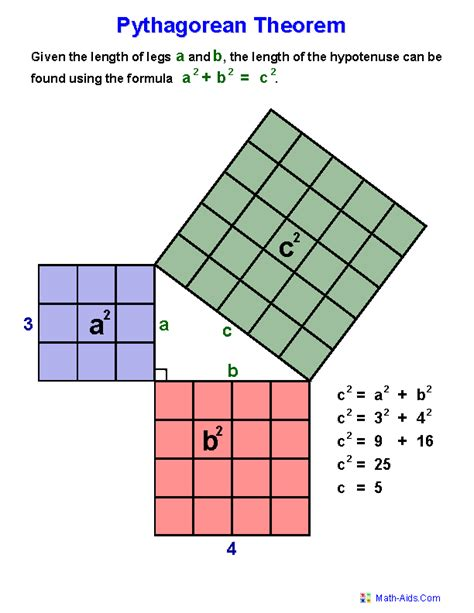 geometry worksheets index of pythagorean theorem worksheets