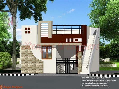 floor plan front view modern single story house plans images one level and