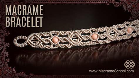 Macrame School - 1001 nights bracelet by macrame school teaser macrame