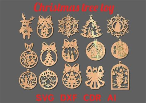 laser cut christmas decorations dxf psoriasisgurucom