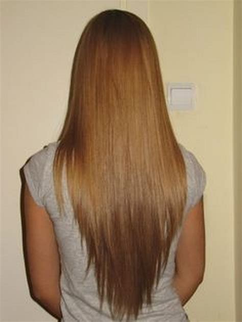shape hairstyle v shaped haircut long hair
