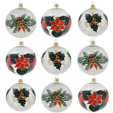 vitbis ornaments vitbis 9 pack clear assorted ornament set at lowesforpros