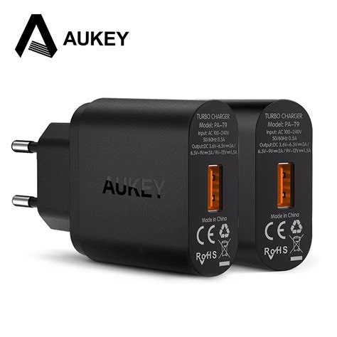 Aukey Pa T9 Charge 3 0 carregador aukey usb charge 3 0 pa t9 original servtel