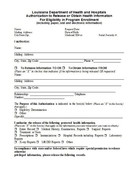 Release Equipment Letter 30 Release Form Templates Template Lab