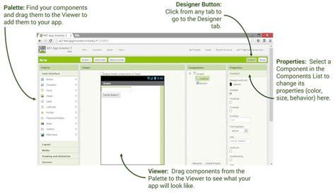 layout en app inventor designer and blocks editor explore mit app inventor