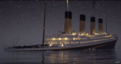 titanic boat information re live the sinking of the titanic in real time video