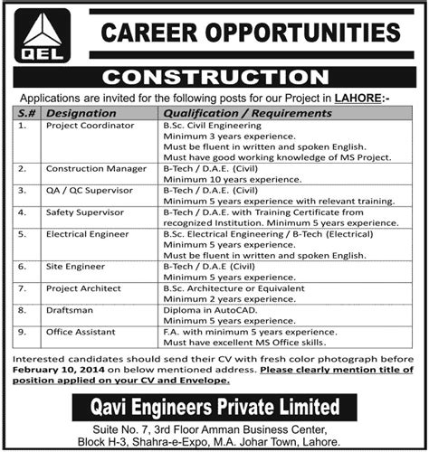 design engineer jobs for civil construction manager archives jhang jobs