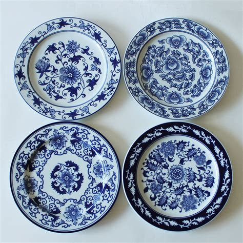 Home Decor Stores India 1 Piece Chinese Antique Porcelain Blue And White