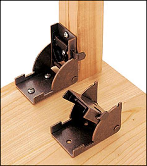 folding bench legs hardware folding leg bracket lee valley tools
