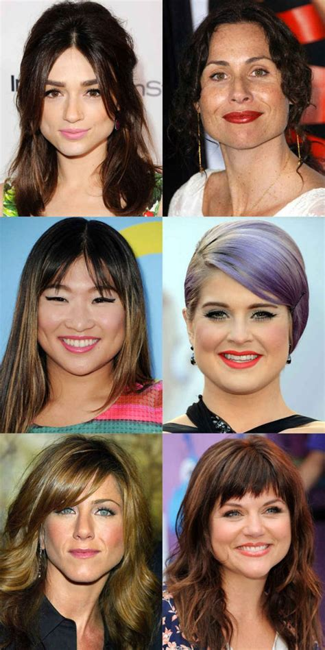 pear shaped face hairstyles women 17 best pear face ideas images on pinterest hairdos