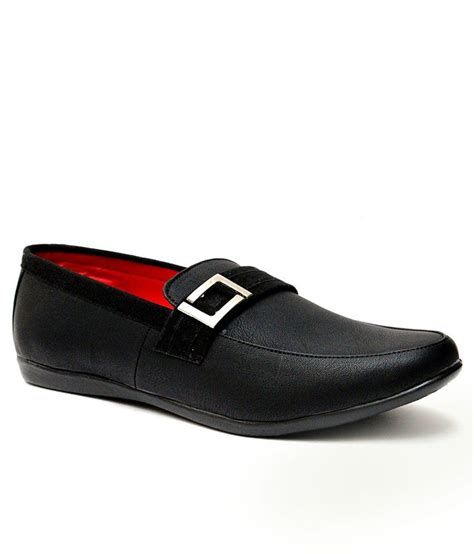 guava s casual loafer shoe black price in india buy