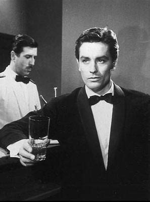 Stirred, Straight Up, with a Twist: Alain Delon