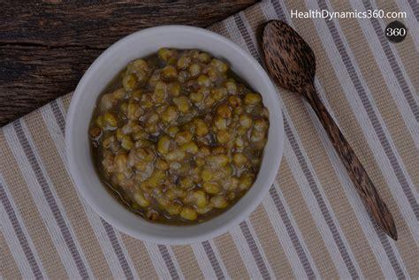 Mung Bean Soup Detox Side Effects by Moong Soup Health Dynamics 360