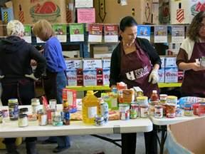 food banks side with ndp in debate child care versus