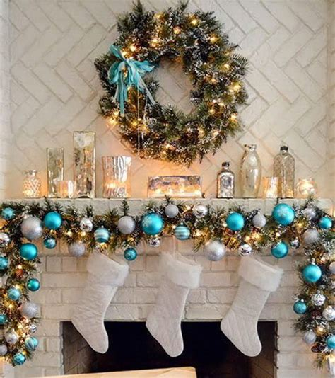 mantel christmas garland