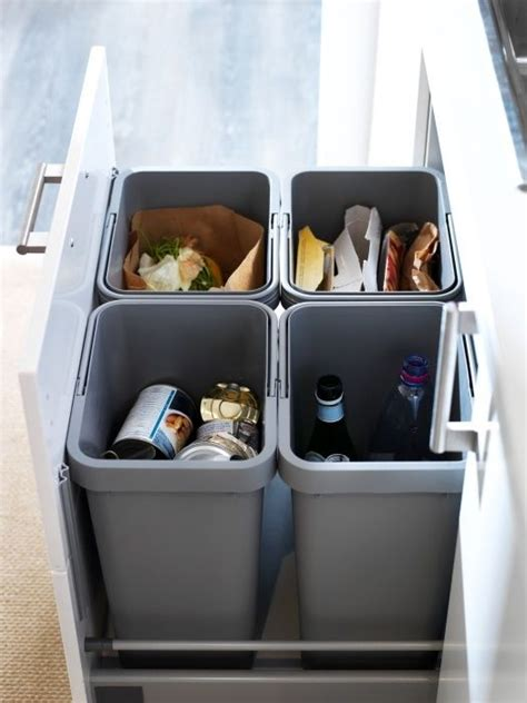 Kitchen Recycling Bins For Cabinets Variera Utrusta Separa 231 227 O De Res 237 Duos P Arm 225 Kitchens Drawers And Ikea Decor