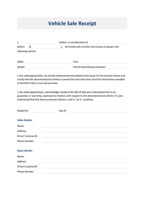printable receipt templates  premium templates