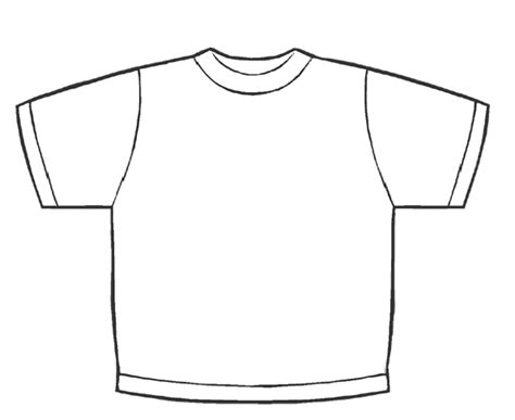 Coloring Page T Shirt by Fourth Grade Tech Lesson Plans