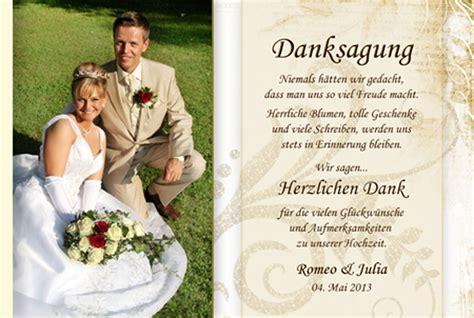 Danksagung Hochzeit by Dankeskarte Hochzeit Text Danksagung Hochzeit Text