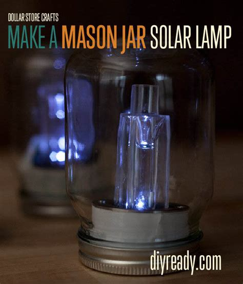 Dollar Store Crafts How To Make Mason Jar Solar Lights Dollar Store Solar Lights