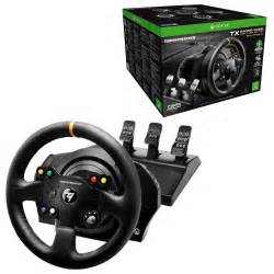 Racing Steering Wheels For Xbox One Thrustmaster Tx Racing Wheel Leather Edition With T3pa