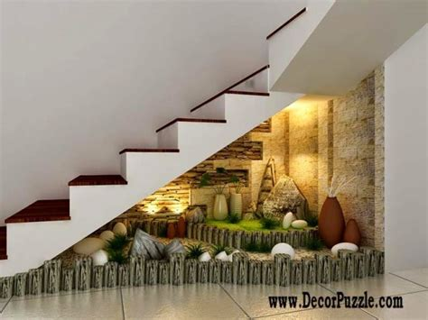 Cement Home Decor Ideas by 16 Awesome Under The Stairs Garden To Inspire You