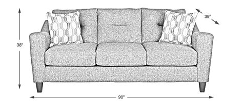 couch depth