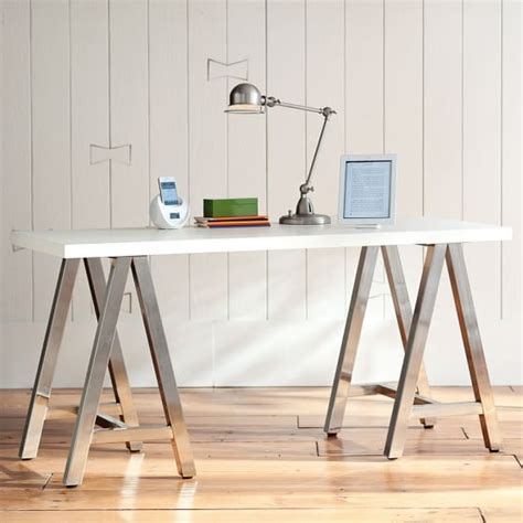 customize it simple a frame desk white top with