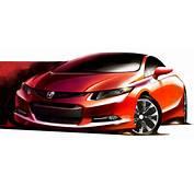 Honda Previews Next Generation Civic In A Sketch