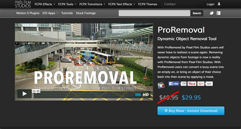 final cut pro uninstall a new fcpx plugin proremoval was released by pixel film