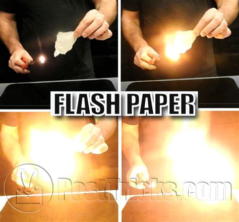 How To Make Flash Paper At Home - flash paper post tricks