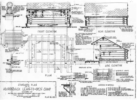 lean to house plans lean to plan small house plans pinterest