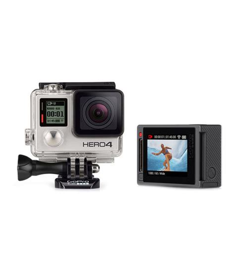 Gopro 5 Silver gopro hero4 silver price in india buy gopro hero4 silver