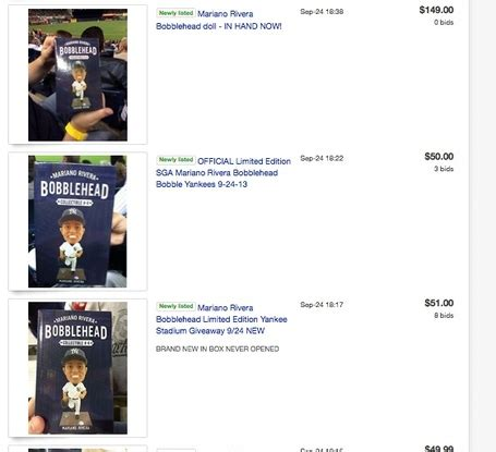 2013 bobblehead giveaways lack of bobbleheads at mariano rivera bobblehead giveaway