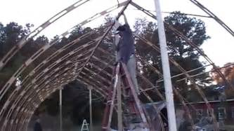 Shed Floor Plans Al S Gothic Arch Greenhouse Project Youtube