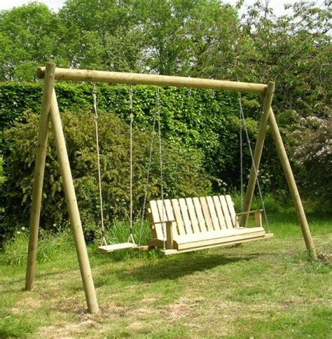 how to build a wooden swing build cheap outdoor table