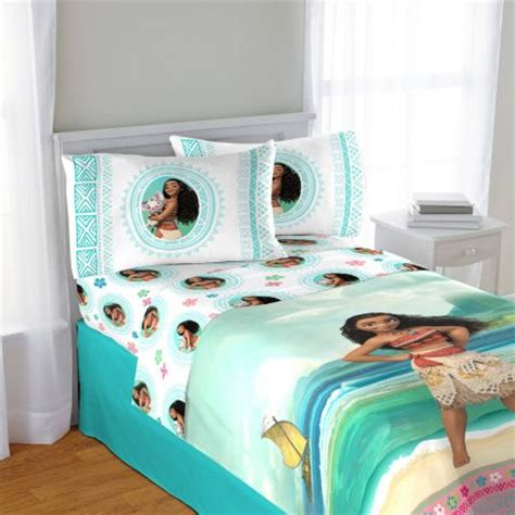 disney bedroom set disney moana twin sheet set walmart com
