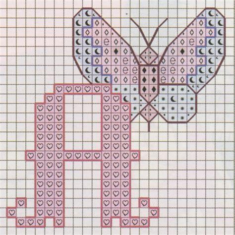 punto e croce lettere nonsolodolciricette schema punto croce l alfabeto con le