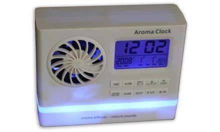 aroma alarm clock with nature sounds groupon
