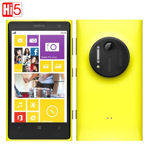 nokia lumia 41 mp mobile nokia lumia 1020 original 41 0mp 32gb rom 2g ram